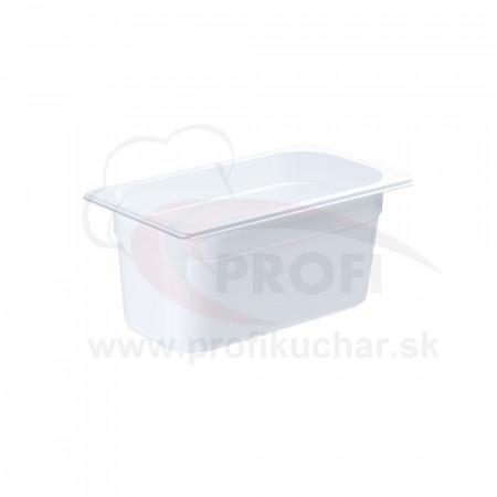 GN nádoba 1/3-150mm, bielý polykarbonát