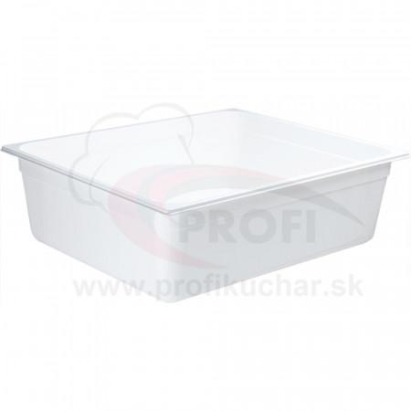 GN nádoba 2/1-2000mm, bielý polykarbonát
