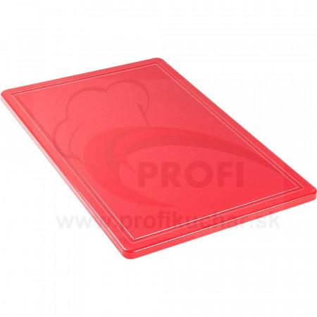 Doska na krájanie STALGAST® 60 x 40 / červená