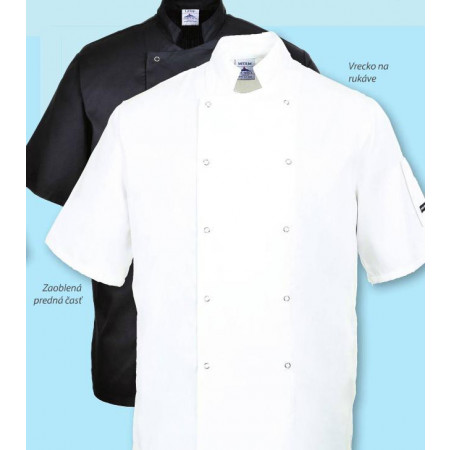 Cumbria kuchársky rondon - biely