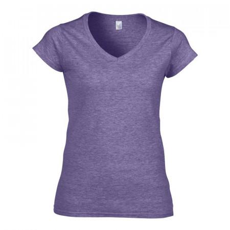 Dámské tričko různé barvy - výstřih do V
