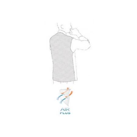 Kuchařský rondon Microtec krátký rukáv - černý