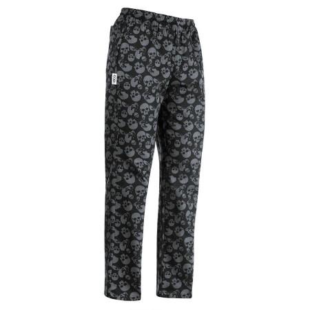 Kuchařské kalhoty Smrtky, 100% bavlna