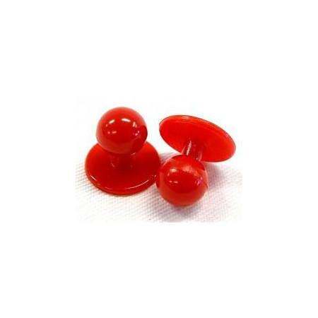 Gombíky do rondonu červené