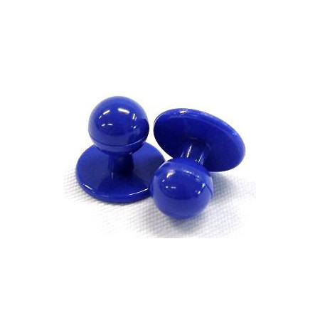 Gombíky do rondonu modré