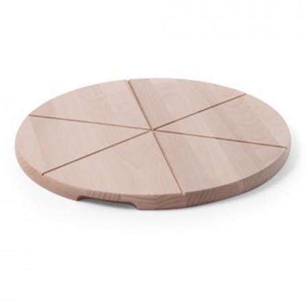 Drevený pizza podnos - pr. 60 cm
