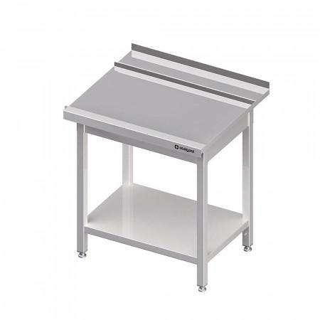 Výstupný stôl k priebežnej umývačke STALGAST – PRAVÝ1000mm