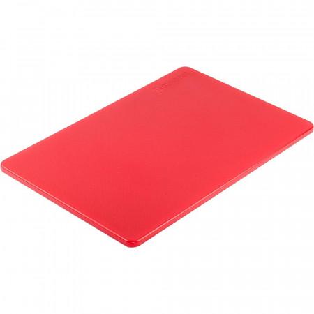 Doska na krájanie STALGAST® 45 x 30 / červená
