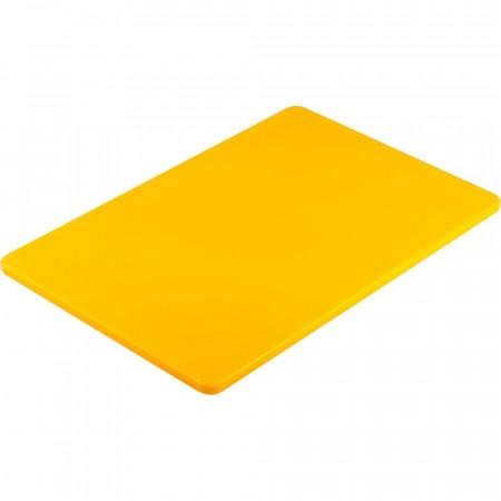 Doska na krájanie STALGAST® 45 x 30 / žltá