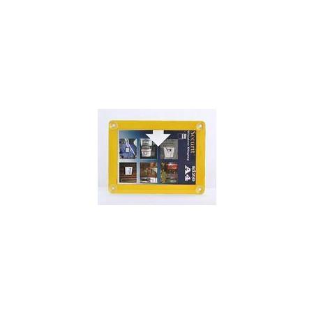 Informačný rámik na sklo A4, 4 farby