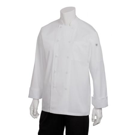 JLLS Kuchařský pracovní rondon - černý, bílý