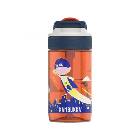 Kambukka Zdravá fľaša pre deti Lagoon 400 ml - Flying Superboy