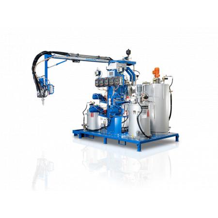 PUR nízkotlaký dávkovací stroj KraussMaffei