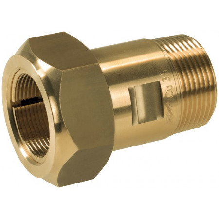 "GEBO Brass MAS 01.313.00.05 1.1/2""x48,3mm Oceľ, EPDM tesnenie"