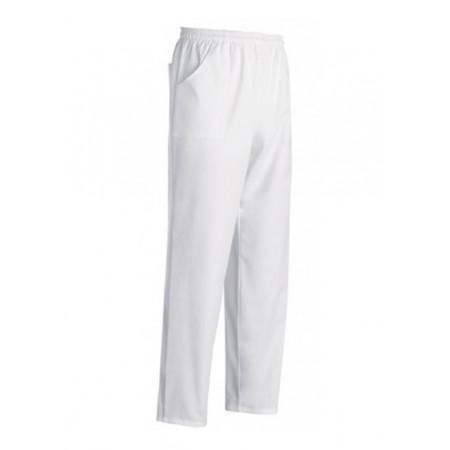 Kuchárske nohavice biele - mikrovlákno
