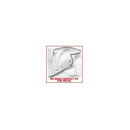 Kuchařský rondon CONVOY - šedý s výložkou
