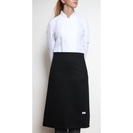 Kuchařská zástěra nízká 100% bavlna - černá