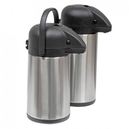 Termoska s pumpou, nádoba nerez, pokrievka polypropylén, objem: 5 l