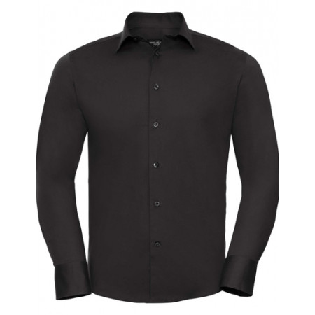 Pánska čašnícka košeľa dlhý rukáv -slim fit - 4 farby