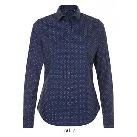 Dámská číšnická košile tečkovaná - 4 barvy
