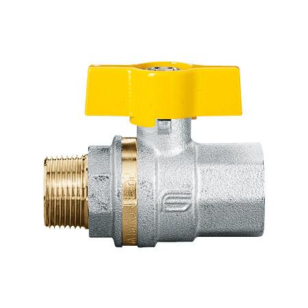 """VENUS 1022G264 Guľový ventil na plyn M/F 1/2"""", DN 15, T-páka"""