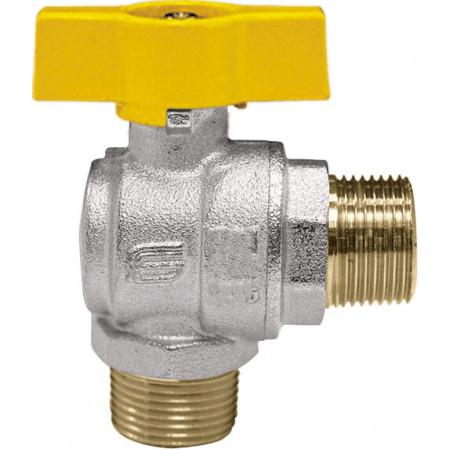 "VENUS 1073G264 Guľový rohový ventil na plyn M/M 1/2"", DN 15, T-páka"