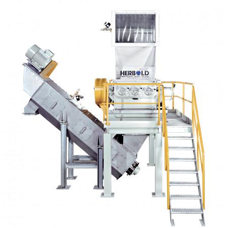 Prací, separační a recyklační linky Neue Herbold