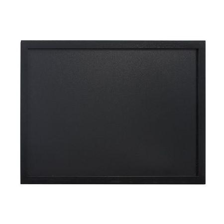 Nástenná popisovacia tabuľa WOODY, čierny 40x60cm