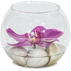 Dekorácie v skle - umelé kvety