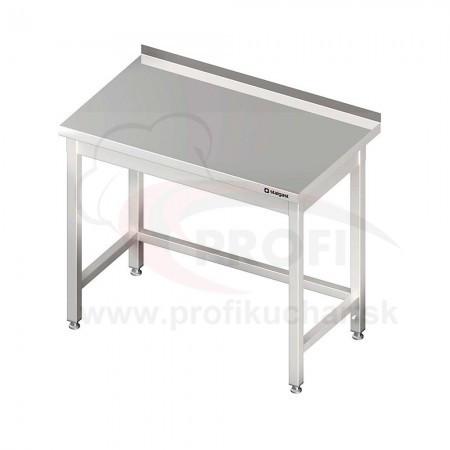 Pracovné stoly bez police