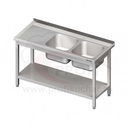 Umývacie stoly s policou