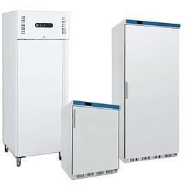 Biele chladničky a mrazničky EKO