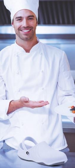 Obuv pre kuchárov