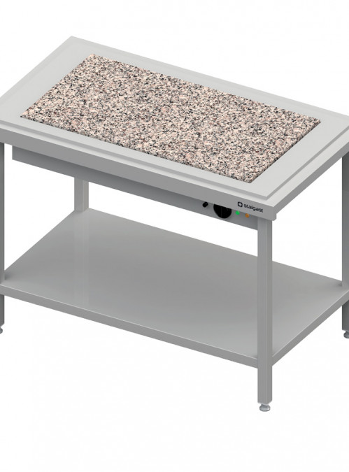 Ohrevné výdajné stoly