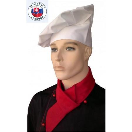 Vysoké kuchařské čepice