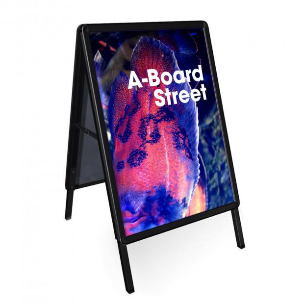 A-board Street čierny