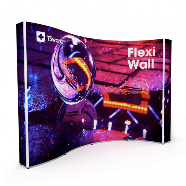 Flexi stena T3works