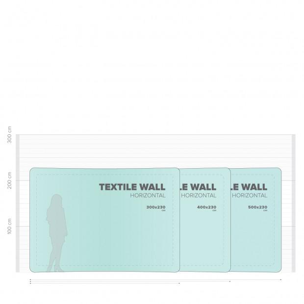 Textile Wall Horizontal