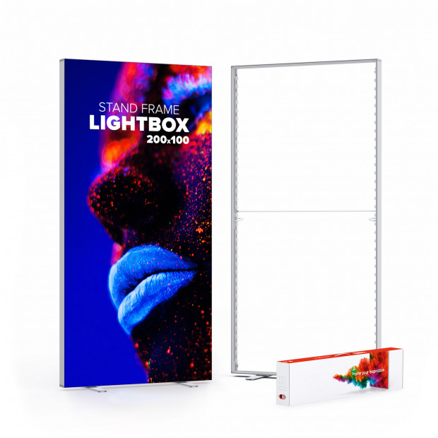 Lightbox - podsvietený textilný rám