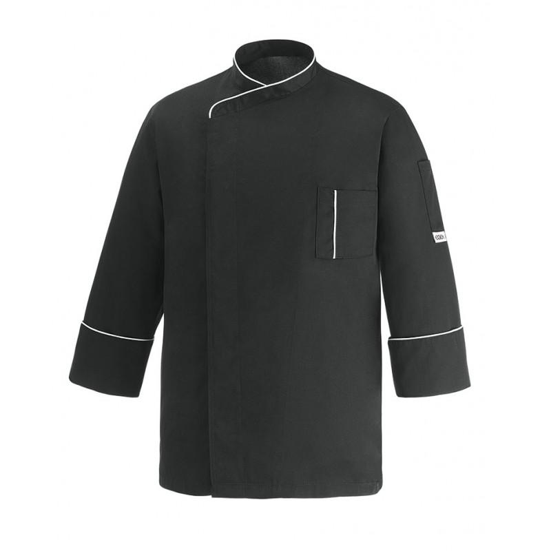 Kuchařský rondon CESARE cool vent - černý