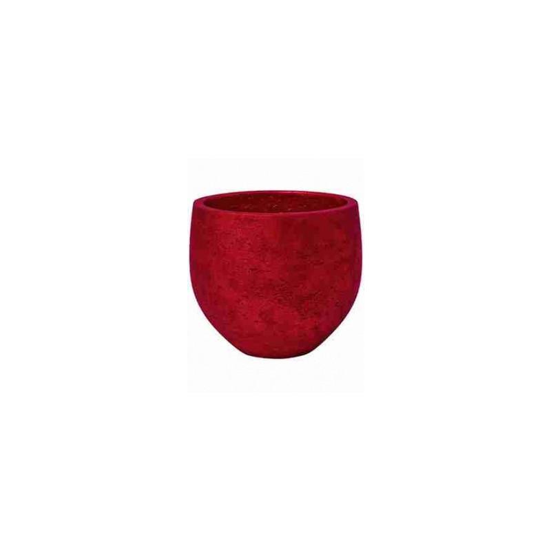 Rough Orb S metalic red 18x15 cm