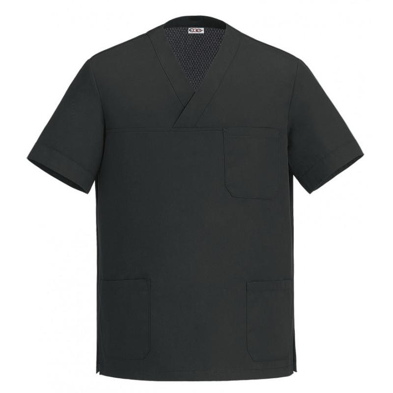 Kuchařská košile s krátkým rukávem COOL - černá