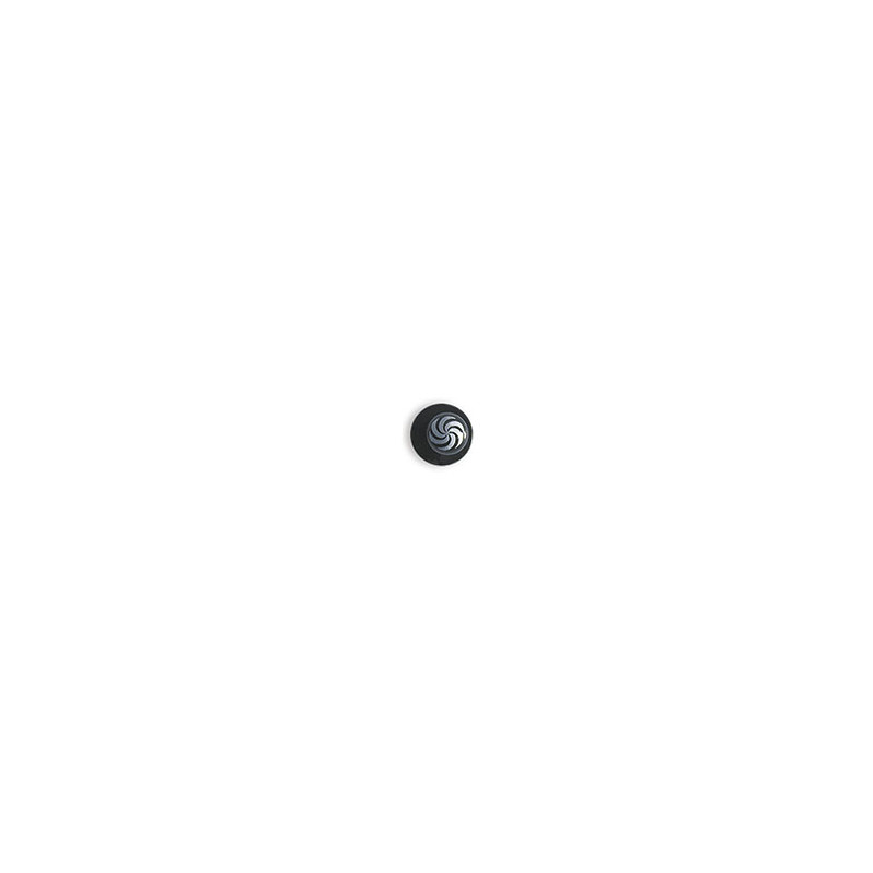 Dámsky kuchársky rondon BLACK WOMAN - gombíky