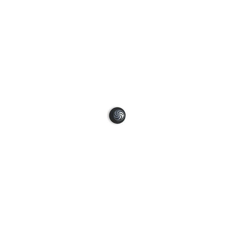 Dámský kuchařský rondon BLACK WOMAN - knoflíky