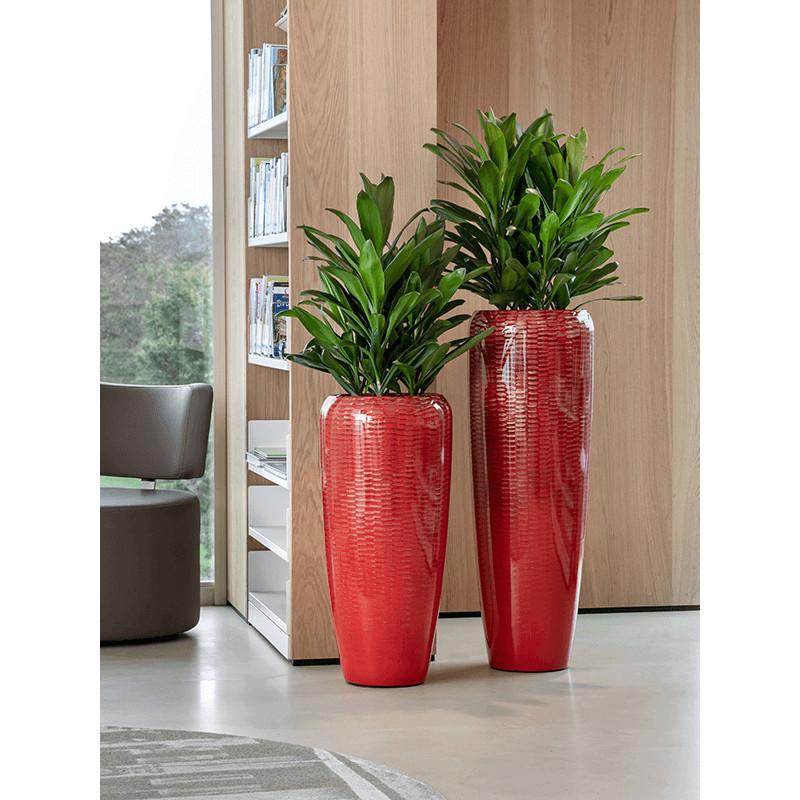 Amfi Partner glossy snake red (+vnutro) 43x68 cm