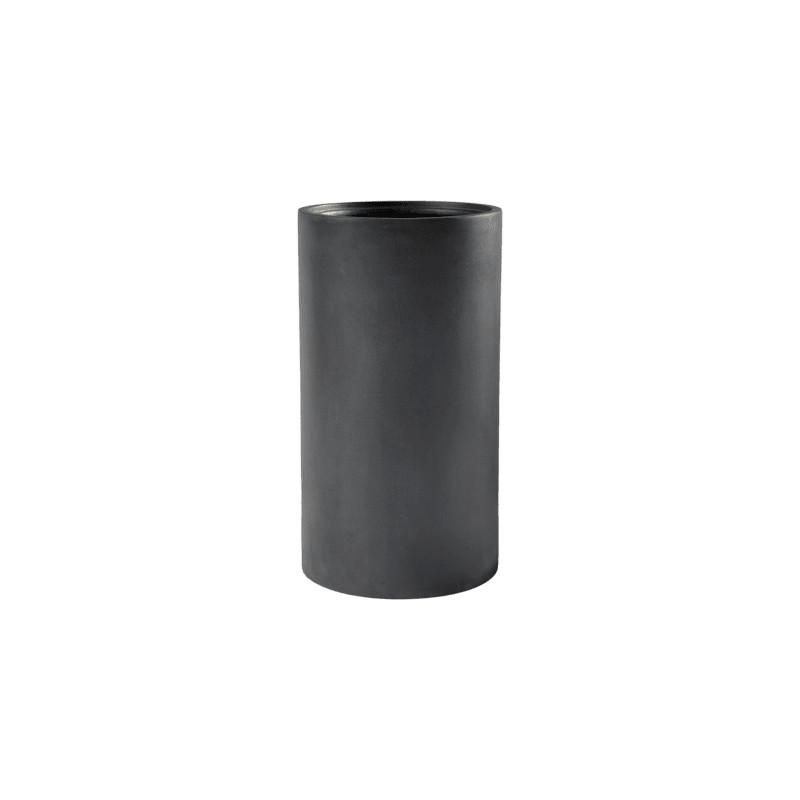 Basic Cylinder Dark grey (with liner) 30x55 cm