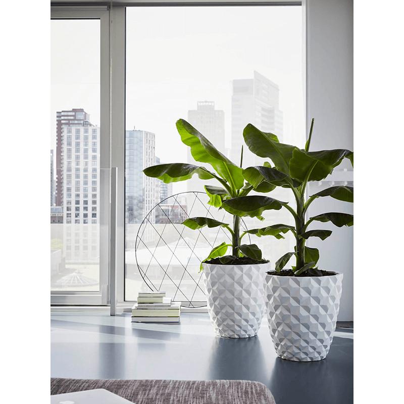 Capi Lux Heraldry Vase Taper round I white 38x40 cm