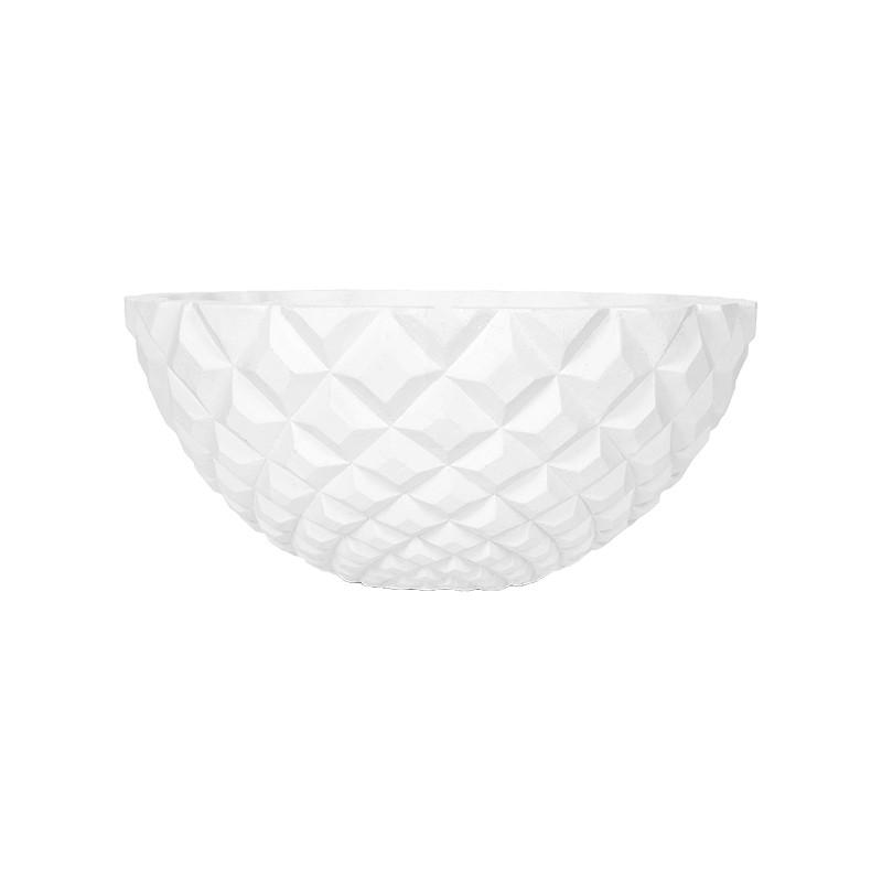 Capi Lux Heraldry Bowl I white 34x35x35x15 cm
