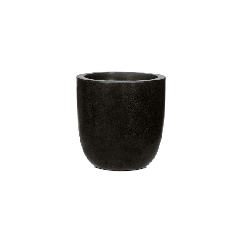 Capi Lux Egg planter II black 37x37 cm
