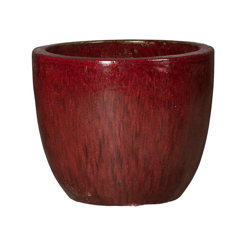 Kvetináč Plain couple Classic red 46x 37 cm